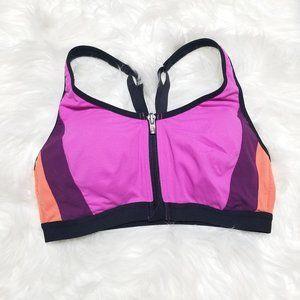 Victorias Secret   Sport Zip Front Hot Pink Bra